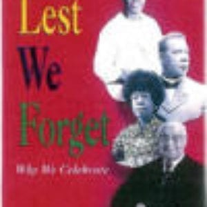 Lest We Forget Paperback Copy